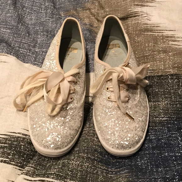 f401bab26b76 kate spade Shoes - Keds x Kate spade New York cream glitter sneakers